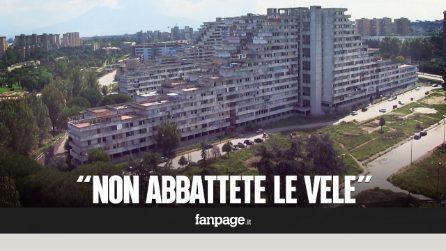 """Scampia, l'appello degli architetti: """"Le Vele non vanno abbattute"""""""
