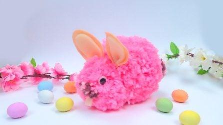 Come realizzare un coniglietto di Pasqua con la lana