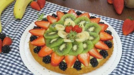 Crostata di frutta furba: si prepara in poco tempo ed è buonissima!
