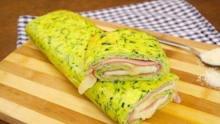 Filled zucchini roll: a simple, yummy recipe that you'll love