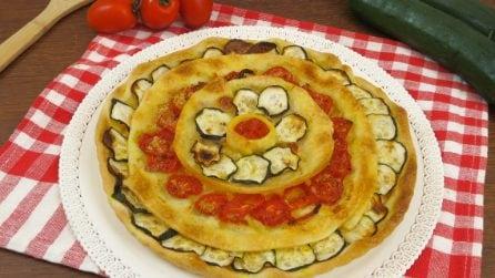 Torta di verdure: il risultato finale vi lascerà senza parole!