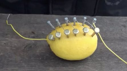 Accende il fuoco usando un limone: ecco come fa
