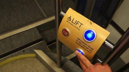 C'è un ascensore all'interno del treno: la tecnologia a servizio dei disabili