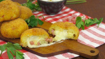 Bombe di patate: calde, filanti e saporite!