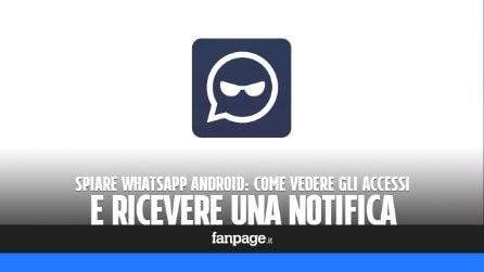 """Spiare WhatsApp iPhone: come vedere gli accessi (e ricevere una notifica) anche con chi ha disattivato la """"visualizzazione ultimo accesso"""""""