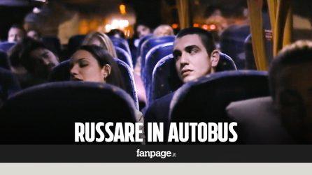 Candid camera: Russare in Autobus