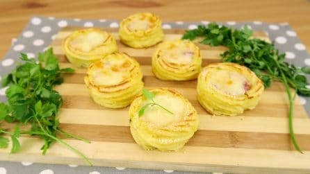 Mashed potato baskets: too good not to try!