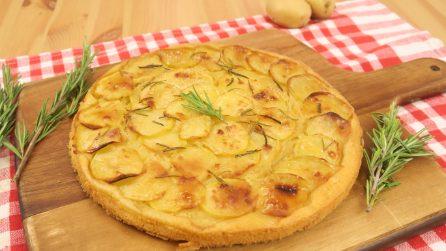 Quick potato focaccia: ready in 5 minutes!
