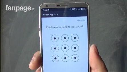 Mettere una password per proteggere la galleria fotogratica in Android