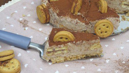 La cheesecake ai biscotti alla nocciola: la ricetta del dessert fresco, goloso, e senza cottura!