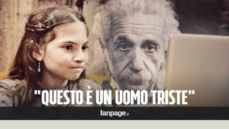 Bambini vedono per la prima volta Einstein e altre icone del '900