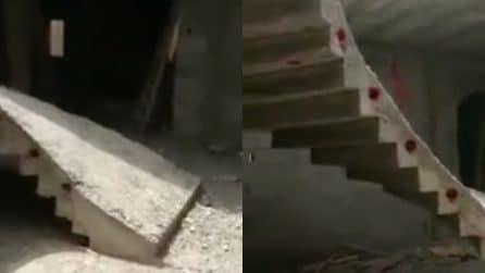 """Le scale hanno un """"difetto"""" di progettazione: ecco la loro particolarità"""