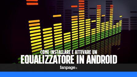 Come attivare l'equalizzatore audio in Android
