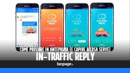 Provare in anteprima In-Traffic Reply, l'app di Samsung che risponde ai messaggi mentre guidate