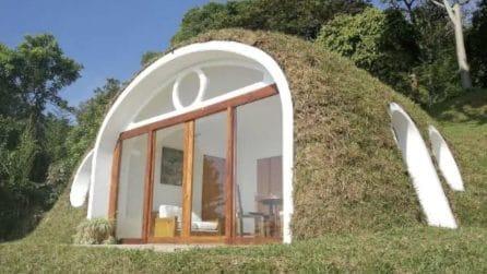 Vivere in una casa da hobbit e risparmiare