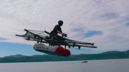 Kitty Hawk, la moto volante di Star Wars diventa realtà: immagini spettacolari