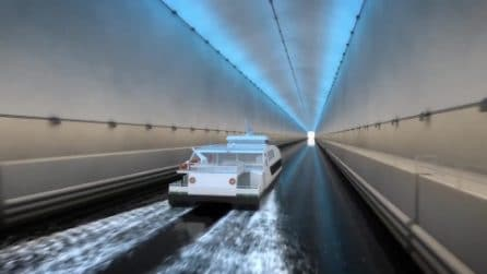 La Norvegia sta costruendo il primo tunnel per navi del mondo