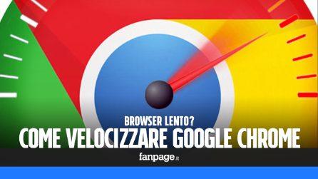 Chrome lento? Ecco come velocizzare il browser di Google