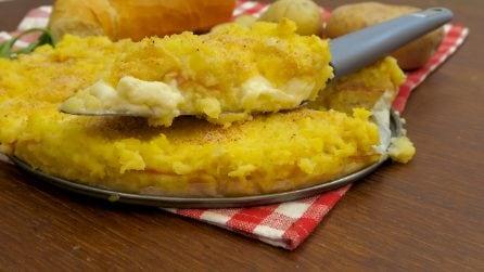 Torta di pane e patate, l'idea golosa per una cenetta originale