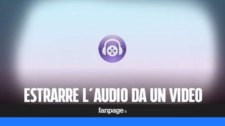 Come estrarre audio mp3 da un video