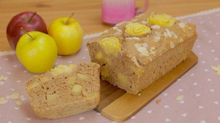 Plumcake cocco, mele e mandorle: la ricetta vegetale semplice e gustosa!