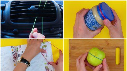Come usare un semplice elastico in modo geniale