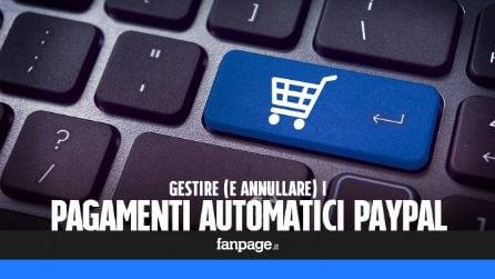 Gestire e annullare i pagamenti automatici su PayPal