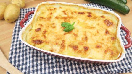 Batata e abobrinha à parmegiana: leve, legal e saborosa!
