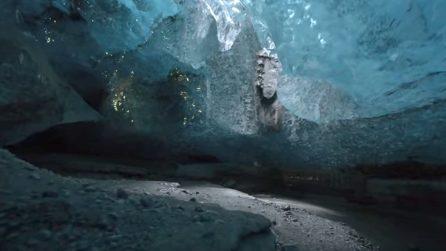 """All'interno della """"Crystal Cave"""": la grotta di ghiaccio blu, tra i luoghi più suggestivi al mondo"""