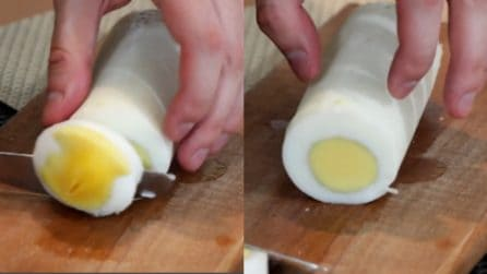 Uovo sodo a forma di cilindro: il modo rapido e veloce per realizzarlo