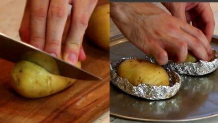 La ricetta per le patate a spirale cotte al forno