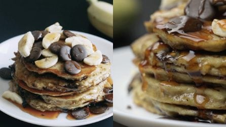 Banana pancakes: the best idea for the perfect breakfast!