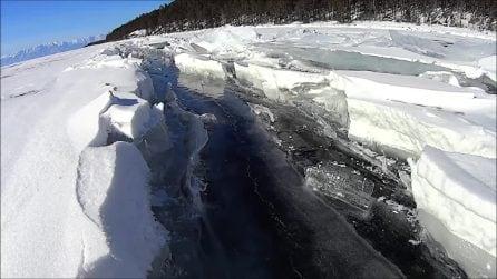 Alzate il volume e provate ad ascoltare: ecco il suono del ghiaccio