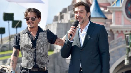 "Anteprima 'Pirati dei Caraibi 5', Johnny Depp: ""Ho baciato in bocca Javier Bardem"""