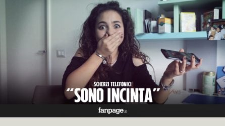 """""""Sono incinta"""": la reazione dei maschi italiani allo scherzo"""