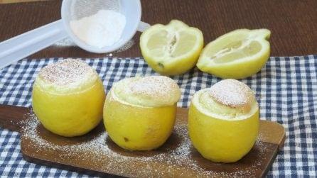 Lemon soufflé: a simple and unique dessert that will surprise everyone!