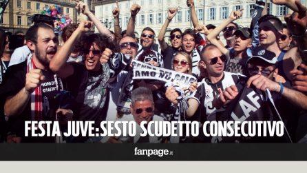Alla Juve il 6° scudetto ma i tifosi in piazza cantano cori razzisti contro Napoli