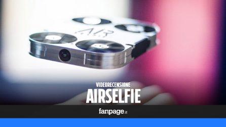 AirSelfie: video recensione e caratteristiche tecniche del drone (italiano) per i selfie