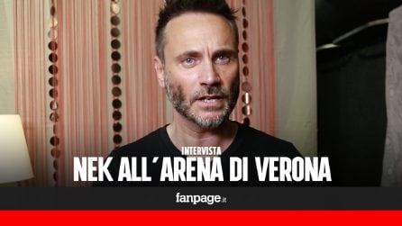 """Nek: """"L'Arena di Verona è un punto di partenza nel mio percorso di crescita"""""""