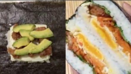 Come preparare un Sushi Burger: cucina giapponese per gli amanti del pesce