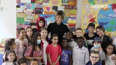 Roma, Melania Trump visita i piccoli pazienti del Bambin Gesù