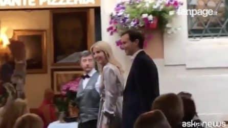 Trump a Roma, la figlia Ivanka a cena in pieno centro storico