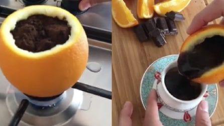 Caffè aromatizzato all'arancia: la preparazione bizzarra