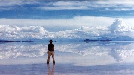 Salar de Uyuni, il lago salato in Bolivia che sembra un enorme specchio