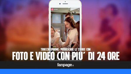 Trucchi iPhone: pubblicare Storie con foto e video più vecchi di 24 ore
