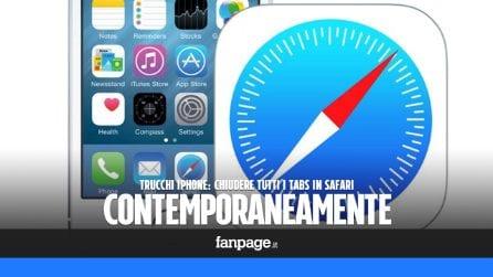 Trucchi iPhone: chiudere tutte le schede di Safari contemporaneamente