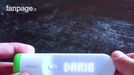 Il termometro che si connette allo smartphone e misura la temperatura in 2 secondi