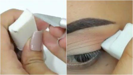 Taglia la gomma in questo modo: il trucco geniale per applicare l'eyeliner