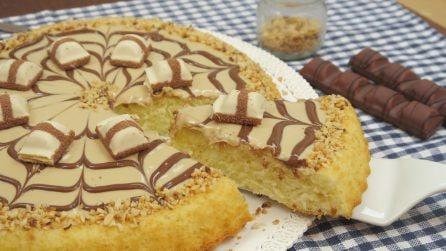 Torta fofa de chocolate branco: o doce mais gostoso que você já viu!