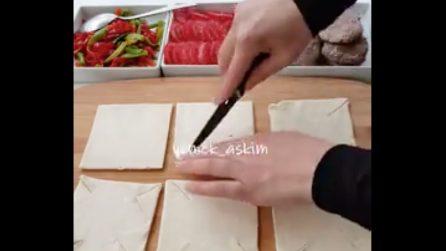 Cestini di pasta con hamburger: una ricetta gustosa